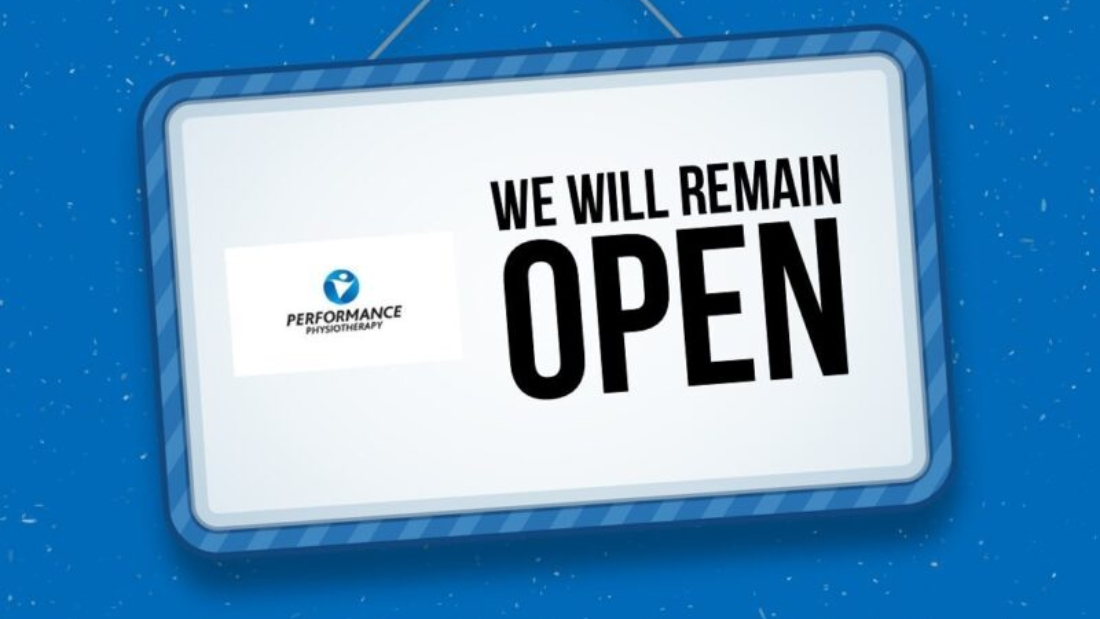 We will remain open through level 5 restrictions